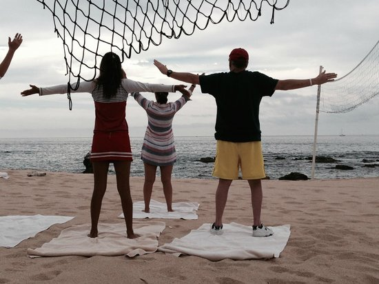 Grand Fiesta Americana Los Cabos All Inclusive Golf & Spa : Morning yoga