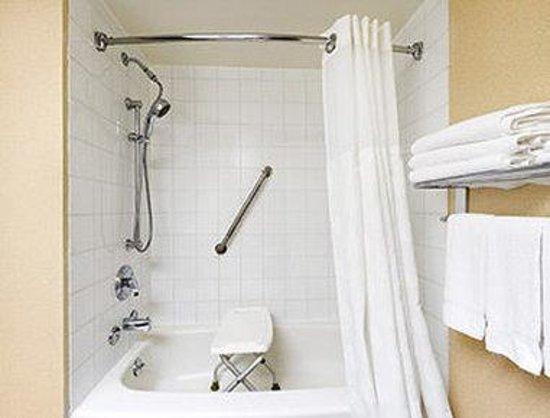 Ramada Trenton: ADA Bathroom