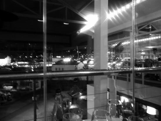 Baia: view from table across V&A