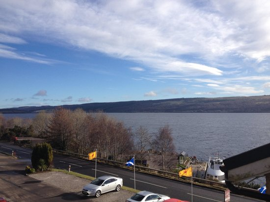 Loch Ness Clansman Hotel: View from the room