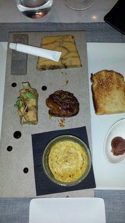 L'Effet Mer: Foie gras 4 ways