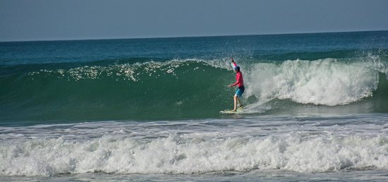 Hotel Casa Azul: Carlyle Stout durfing Playa carmen