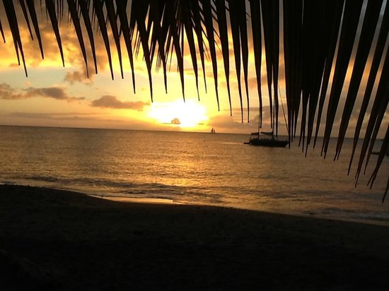 Ti Kaye Resort & Spa: Sunset on the last day