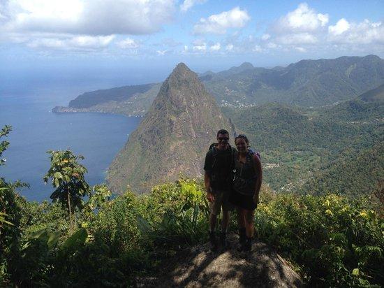 Ti Kaye Resort & Spa: We hiked Gros Piton!