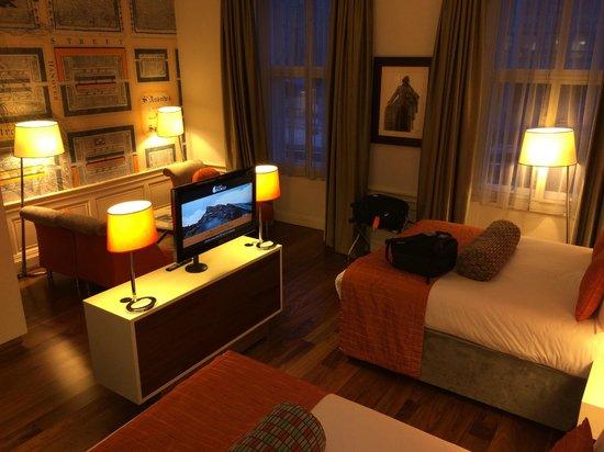 Hotel Indigo Edinburgh : Bed room