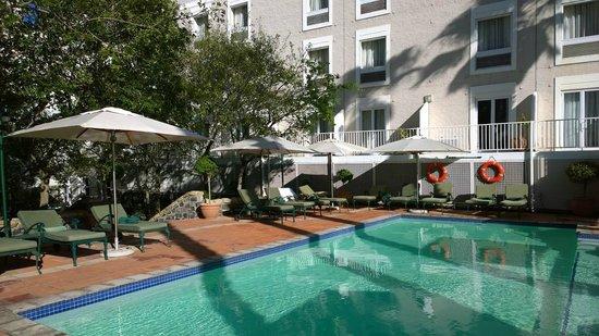 The Commodore: Pool area