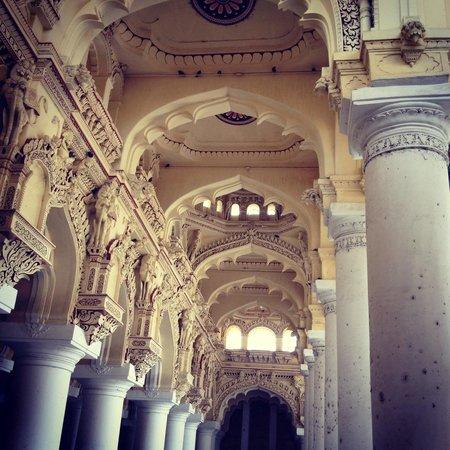 Thirumalai Nayakar Mahal: Palace @Madurai