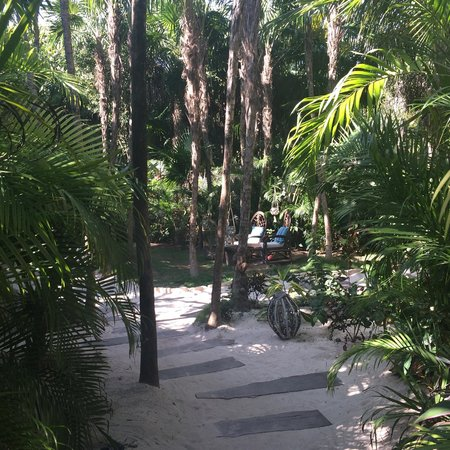 Be Tulum Hotel : Path to the beach