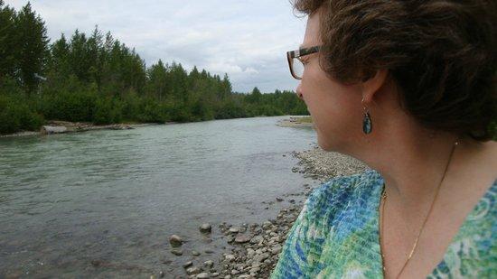 Denali Fireside Cabins & Suites: Talkeetna River