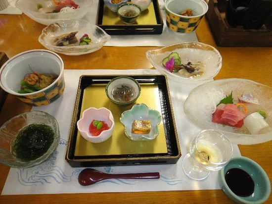 Hotel Urashima Sanjokan: 夕食