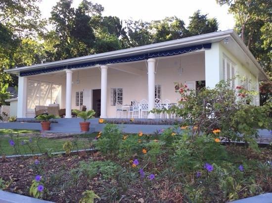 Prospect Plantation: outside living in February!