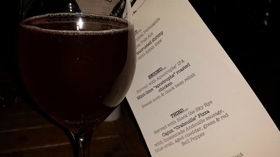 Cornerstone - Artisanal Pizza & Craft Beer: Beer Dinner Menu