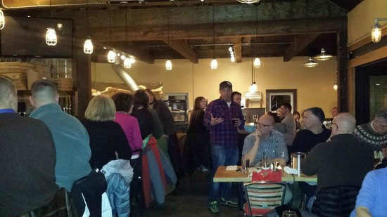 Cornerstone - Artisanal Pizza & Craft Beer: Crowd at Cornerstone - Beer Dinner