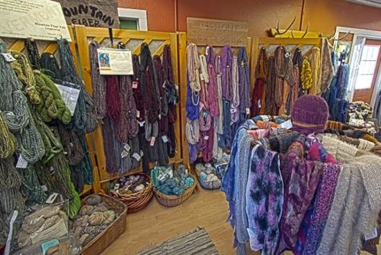 Montgomery Center, VT: Yarn by the score at this store