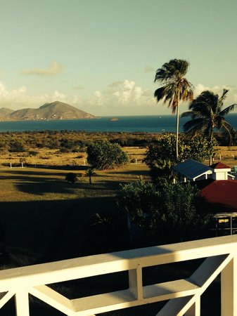 The Mount Nevis Hotel: What a view to awaken to.... from our balcony.