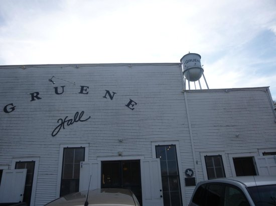 Gruene Hall and water tower