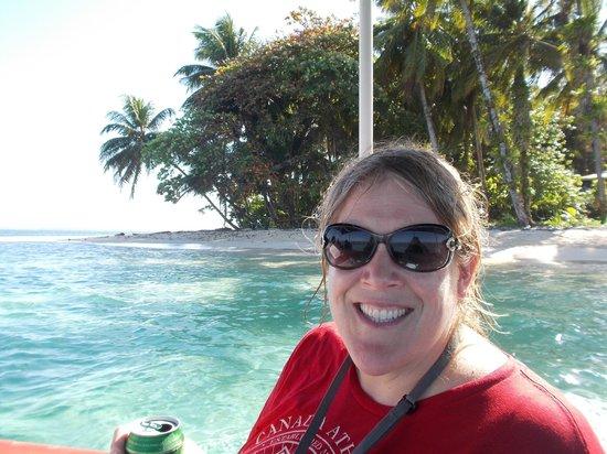 Under sea Panama: happy me