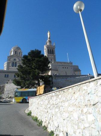 Basilique Notre-Dame de la Garde : esterno