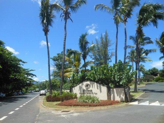 Hilton Mauritius Resort & Spa: Hotel Entrance