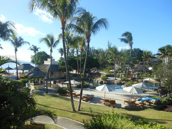 Hilton Mauritius Resort & Spa: View from room 2037