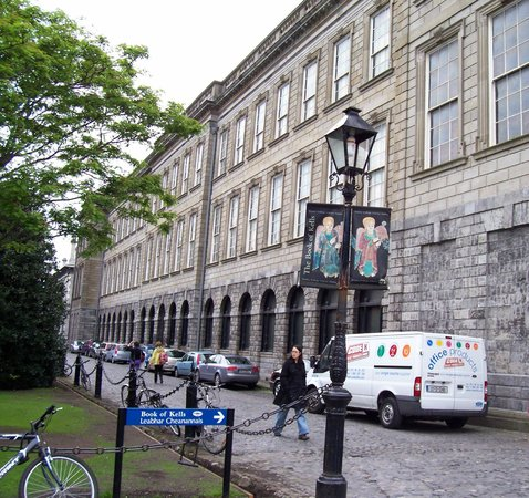 The Book of Kells and the Old Library Exhibition: The Old Library & Book of Kells