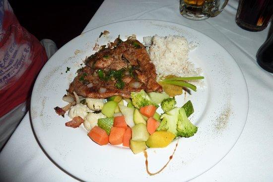 El Meson del Marques : my husband's dish