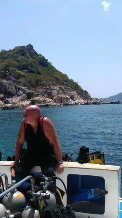 Bophut Diving School: Colin