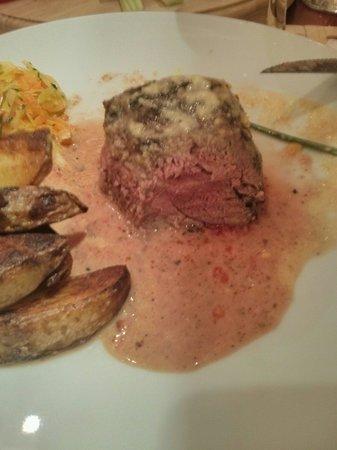 Baobab Steak House : Excellent medium done