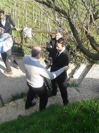 Valdobbiadene, Italy: Intervista delle IENE