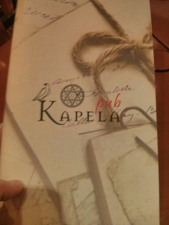 Baobab Steak House: Instead of Baobab pub we find Kapela put. Hostess told that it is the same but renames place.