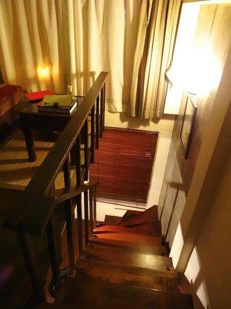 Arun Residence: chambre sur deux étages