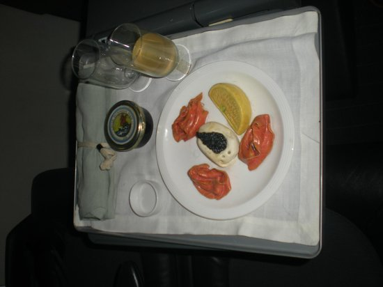 Barbados Concorde Experience: Dinner is served