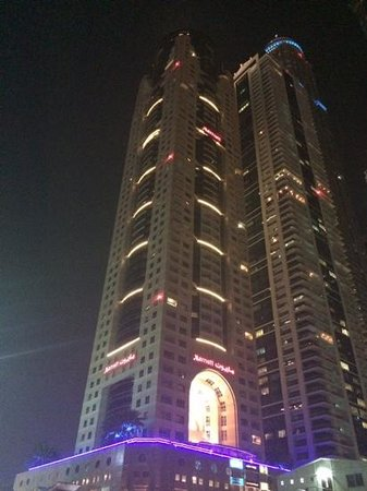 Dubai Marriott Harbour Hotel & Suites: отель Marriott Dubai