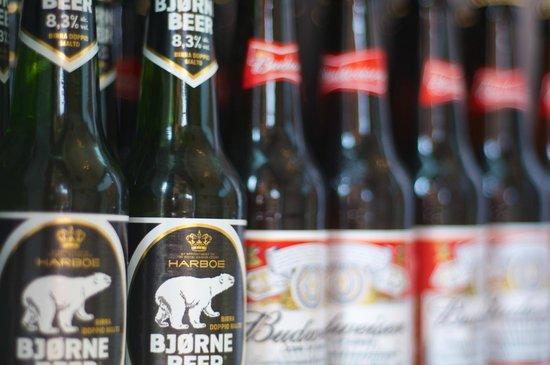 La Tana dell'Orso: ...la birra dell'orso...ma se ne vuoi una puoi prenderla!
