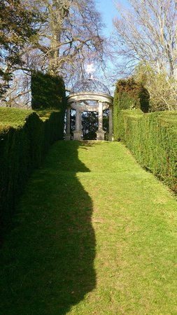 Kingston Maurward Park and Gardens: View from bottom of Hill