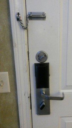The Senator Spa: Back entry door
