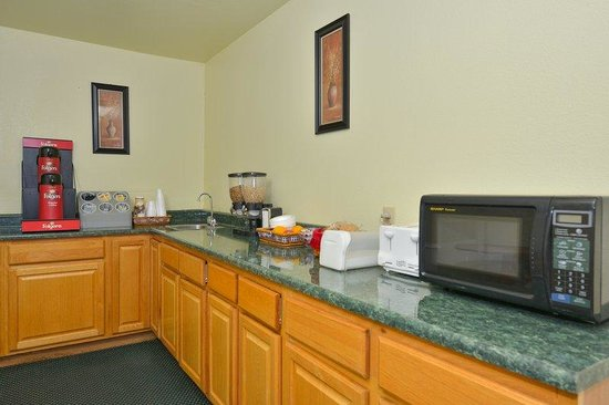 Americas Best Value Inn Tucumcari: Breakfast Area