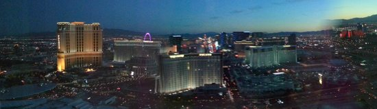 Trump International Hotel Las Vegas: The view from our room - 5503.