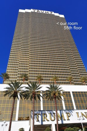 Trump International Hotel Las Vegas: View from the street.
