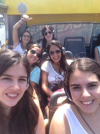 Buenos Aires Bus: bus with friends
