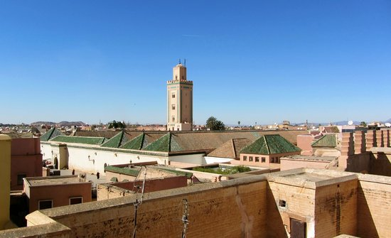Dar Lalla F'dila: View from the roof terrace