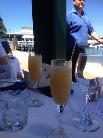 Doyles on the Beach: Bellinis to start a wonderful meal
