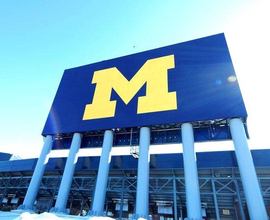 Michigan Stadium : The Block 'M'