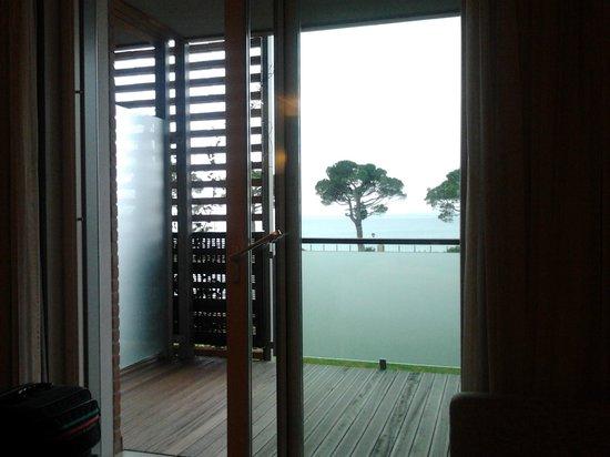 Hotel Corte Valier: vista dal letto