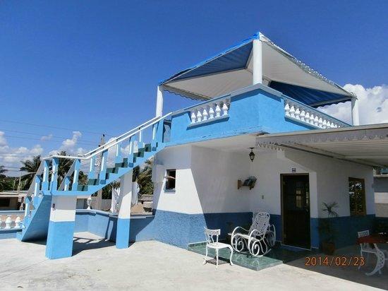 Casa Costa Azul: De prachtige ligging van de kamer op het dakterras