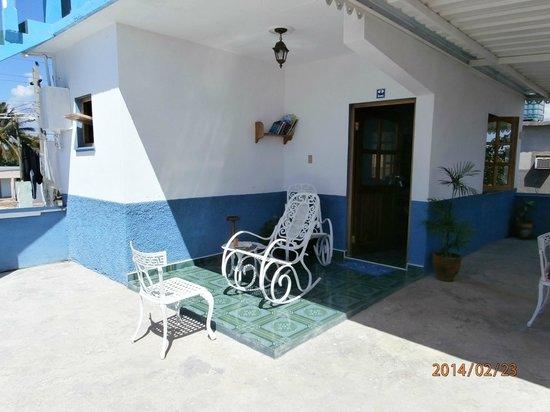 Casa Costa Azul: Kamer op het dakterras