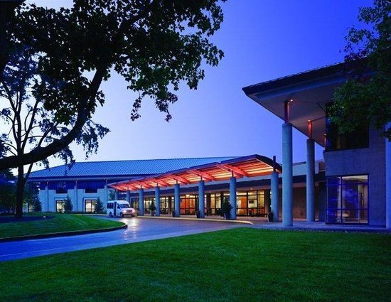 The National Conference Center: Exterior at Sundown