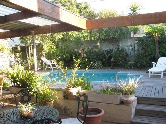 Auriols Tours: Auriol's beautiful garden with pool