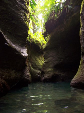 Middleham Falls: Ti Tou Gorge