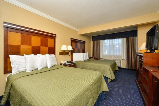 Americas Best Value Inn - San Mateo / San Francisco: Two Double Beds